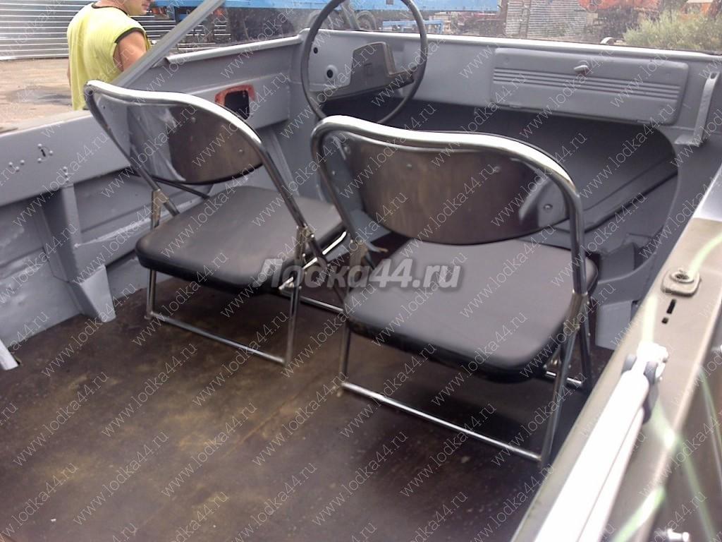Как сделать сидение для лодки алюминиевой
