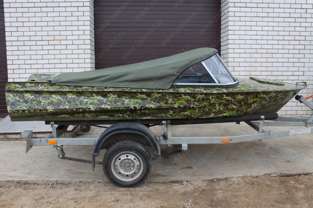 Тент для лодки обь 1 своими руками 65