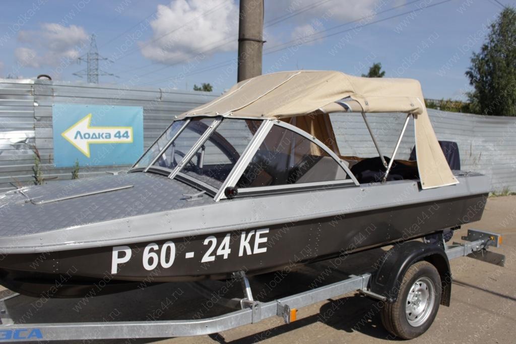 Тент  на лодку обь 3