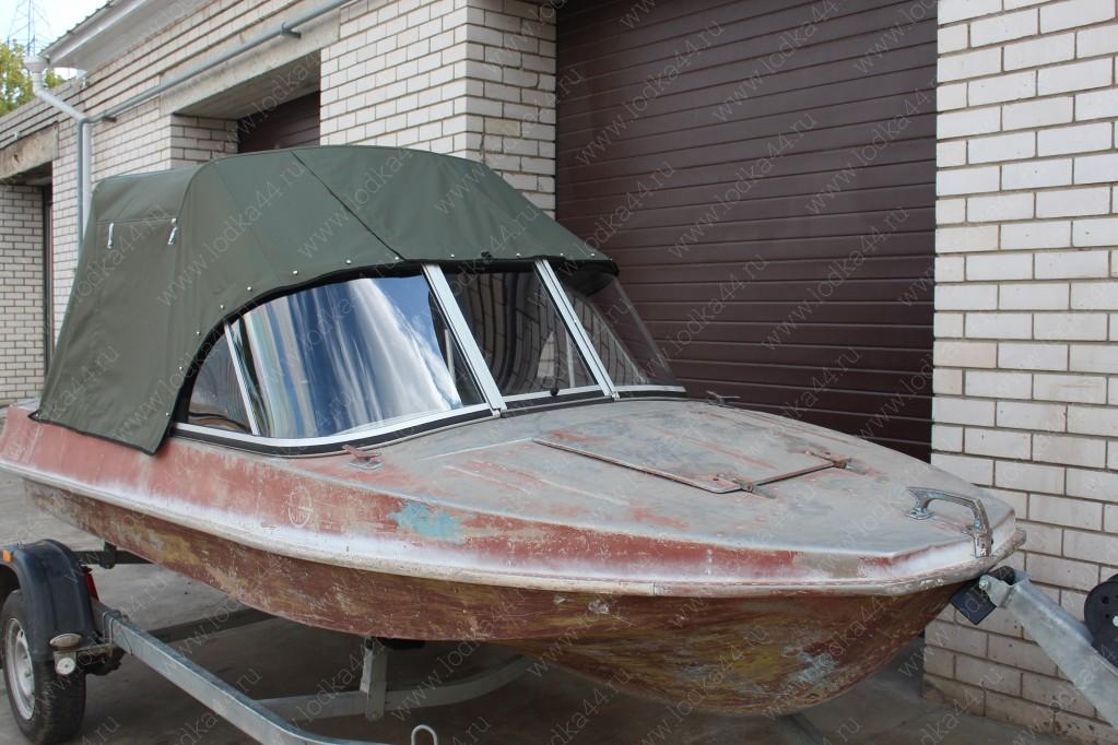 Тент для лодки обь 1 своими руками 77