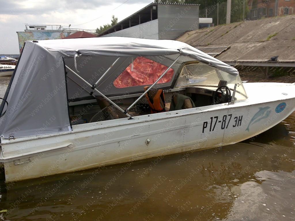 Как сшить тент на лодку казанка 5