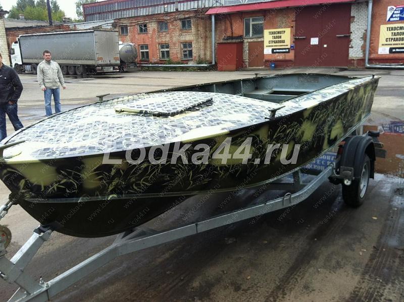 Лодка воронеж тюнинг своими руками