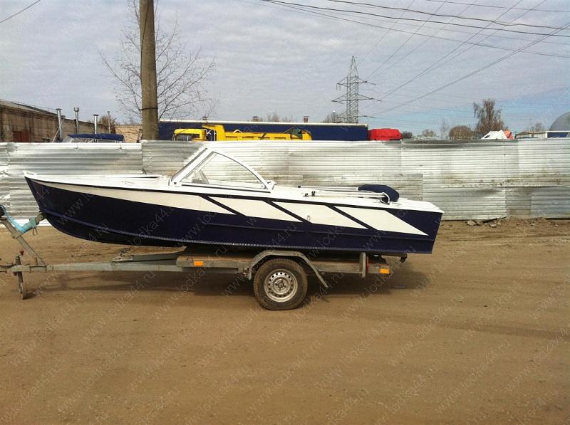 фото покраски лодок прогресс