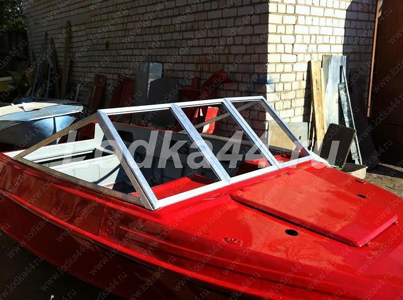 Лобовое стекло для лодки своими руками 223